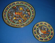 DERUTA ORO Prag maioliche Byzantine Mosaic GIALLETTI Giulio Byzantino