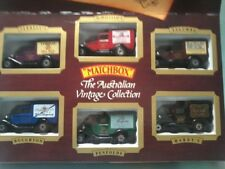 MATCHBOX Australian Vintage Collection MB 913 Set of 6 MB 38s  Wine series MintB