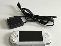 Sony PSP 3000PW Launch Edition Pearl White Handheld System Charger Battery JAPAN