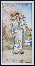 The Mikado   Gilbert and Sullivan  Yum-Yum  Vintage 1920's Card # VGC