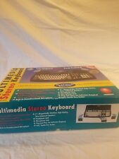 NEW Platinum sound multimedia stereo keyboard msk 200 SUPER RARE COLLECTABLE