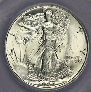 1944-P 1944 Walking Liberty Half Dollar ANACS MS64