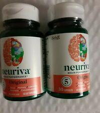 NEURIVA Original Brain Performance Schiff 30x2=60 Caps Exp 03/2021  no box
