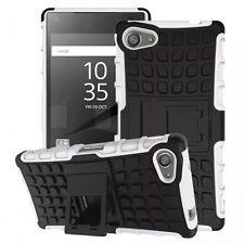 Etui Hybride 2 pièces Extérieur Blanc étui pour Sony Xperia Z5 Compact 4.6