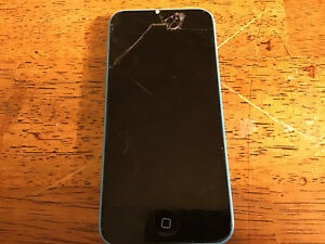 Apple iPhone 5c 16GB Blue A1532 GSM For parts