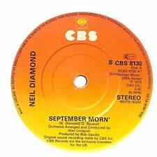 """Neil Diamond - September Morn' - 7"""" Vinyl Record Single"""