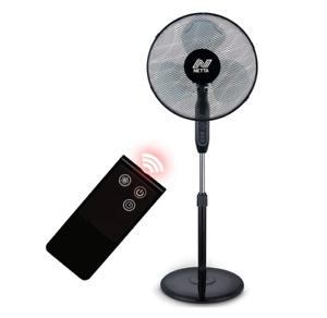 NETTA 16 Inch Pedestal Standing Fan 3 Speed 7-Hour Timer Remote Control 40W