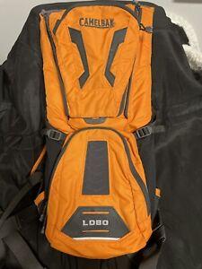 Orange & Gray Lobo Camelback Hydration Pack- Backpack -No Bladder