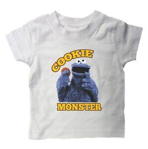 COOKIE MONSTER BABY TODDLER Kids T-Shirt Sesame Street