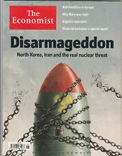 THE ECONOMIST Magazine 5 May 2018 - Disarmageddon