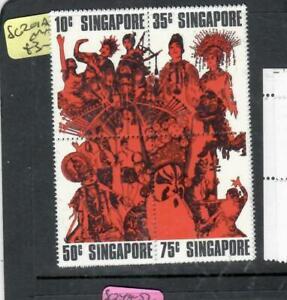SINGAPORE (P1806B)       SG201A   BL 4   MNH