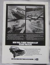 1971 Vauxhall Viva Original advert No.1