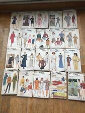 lot de 31 PATRONS VOGUE Vintage Patterns voir les photos