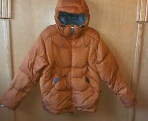 Salomon Men's M Hooded Down Snowboarding Jacket. Super Warm! Nice!