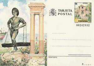 Spanje briefkaart tarjeta postal onbeschreven - El Cenachero (04)
