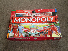MONOPOLY GAME : LIVERPOOL FOOTBALL CLUB 2010 RARE EDITION - IN VGC (FREE UK P&P)