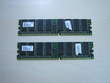 Hynix DDR1 512MB (2 X 256MB) PC3200 400MHz 184pin Memory TEST OK!