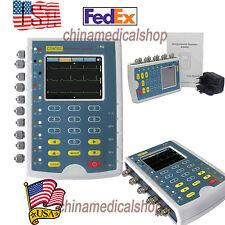 Pantalla táctil del paciente simulador de varios parámetros ECG/IBP/Resp/Temp arritmia Usa