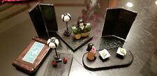 Lot of Japanese Hina Doll Lacquerware Miniature