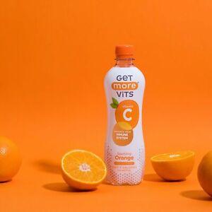 Vitamin C Drink Orange 12x500ml by Get More Vits