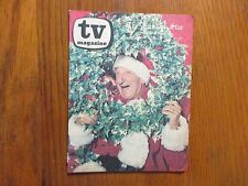 1969 Washington Evening Star TV Mag(JIMMY DURANTE/CHRISTMAS ISSUE/GLEN CAMPBELL)