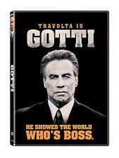 GOTTI DVD | NEW | JOHN TRAVOLTA | KELLY PRESTON | SHIPS WORLDWIDE