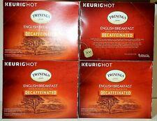 Twinings English Breakfast Decaf Tea K-Cups 96ct BB 5/22 S3