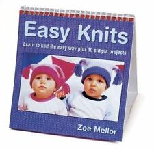 Easy Knits: Learn to Knit the Easy Way Through 10 Simple Projects-ExLibrary