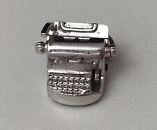 Vintage Sterling Silver Movable Type Writer Charm (4.1 grams)