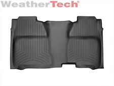WeatherTech Floor Mats FloorLiner for Silverado/Sierra Crew Cab- 2nd Row - Black