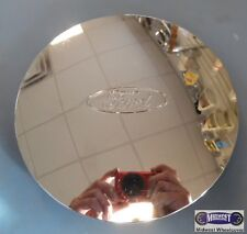"""'96-'98 FORD, USED CAP, CHROME, FORD OVAL, CLIPS & WIRE RING, 7-1/2"""" DIA.  3175b"""