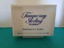 Tanqueray Sterling Vodka White Plastic Bar Style Bar Caddy