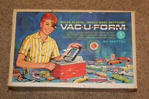 VINTAGE CIRCA 1962 MATTEL Vac-U-Form Vacuform IN ORIGINAL BOX MUST L@@K