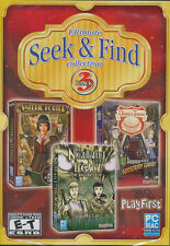 Ultimate SEEK & FIND COLLECTION 3x Pack - Hidden Object PC & MAC Games - NEW!