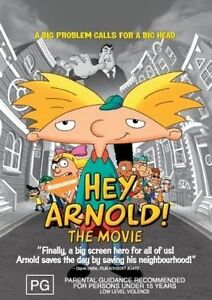 """Hey Arnold - The Movie (DVD) Region 4 """"NEW AND SEALED"""""""