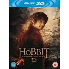 THE HOBBIT: AN UNEXPECTED JOURNEY NEW REGION B BLU-RAY