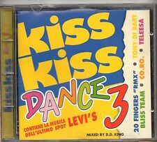 KISS KISS DANCE 3 1995 CD BIOSPHERE WINXS BLISS TEAM TALEESA ARGONAUTS  GREED