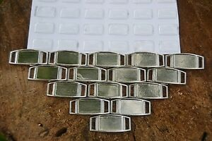 10  Blank Rectangle Paracord Charms with Epoxy Stickers, Shoelace Charms!!! USA