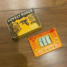 Vintage CASIO CG-95 LOVELY KOALA Handheld LCD Game in ORIGINAL ( BOXED )