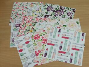 Stampin Up Designer Series Paper - 12 sheets of 6 x 6 inch papers Dressed to Imp