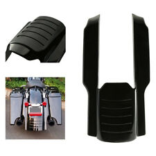 Black Stretched Rear Fender Extension for Harley Touring Electra Road Glide
