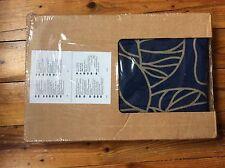 Ikea Karlstad Bezug blau-beige *  Bladåker * Hocker * 102.290.59 * Neu / OVP *