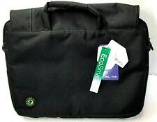 "NEW Targus Spruce EcoSmart Checkpoint-Friendly Laptop Bag 15.6"" w/ Sh. Strap BLK"