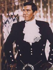 [7698] George Lazenby James Bond 007 Signed 10x8 Photo AFTAL