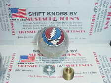 Grateful Dead Steal Your Face , Custom Shift Knob, Car, Truck  (Clear Glitter)