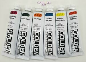 Golden Artist Colours - Heavy Body Acrylic- Choose Your Colour - Page 3 Of 4