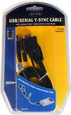 Belkin Compaq iPaq 3800 USB Serial Y-Sync Cable F8Q2101 New Retail