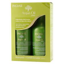 INOAR Argan Oil Shampoo Set e Senza Risciacquo (dal homecare kit)