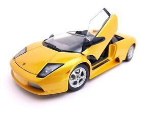 Maisto Yellow Lamborghini Murcielago Roadster 1/18 Scale Diecast
