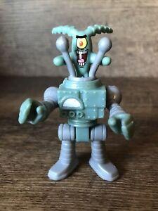 Imaginext SpongeBob SquarePants PLANKTON & ROBOT SUIT figures from Krusty Krab
